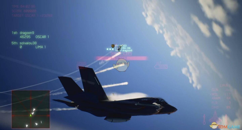 皇牌空战7未知空域ACE难度S评价攻略——第十八关